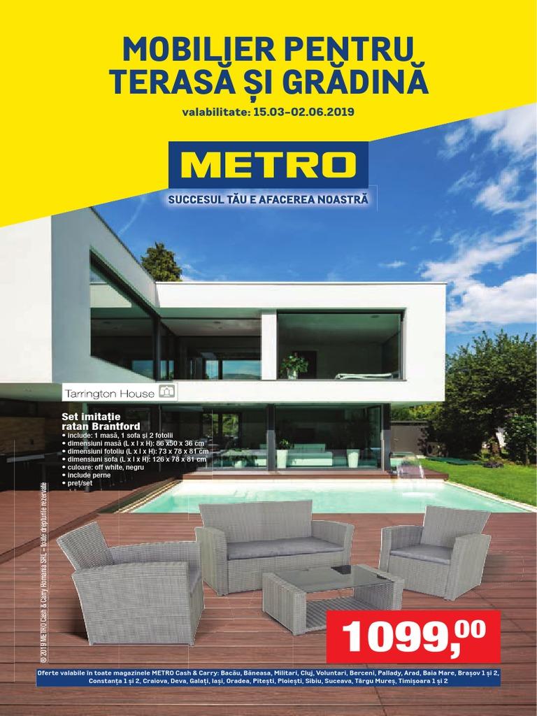 Cataloagele Metro Mobilier Pentru Terasa Si Gradina Ed4obpeag9w9 Pdf