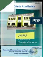 Catálogo de Extensión UNIPAP
