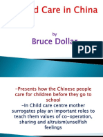 Child Care in China