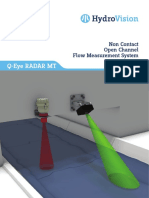 Brochure HydroVision Contactfree Flow Measurement Q-EyeRadarMT 2016 E-1