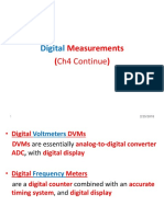 CH2 Digital Measurments