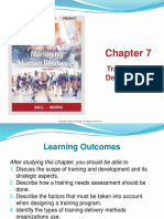CHAPTER 7 Training and Development