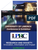 LPRC Conference Booklet 2019