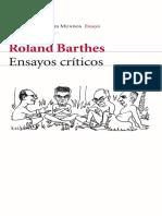 Roland Barthes - Ensayos críticos-Planeta S.A.I.C._ Seix Barral (2003).pdf