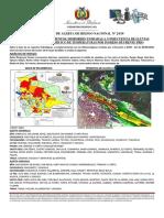 Boletin de Riesgo 24 Alerta Amarilla Naranja Inundaciones Lluvias Fuertes-Descenso Temperaturas 10-05-2019