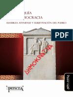 Julian Gallego - La anarquía de la democracia. Asamblea ateniense y subjetivación del pueblo (2018).pdf