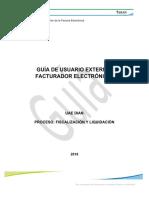 Guía de Usuario Externo Facturador Electrónico 21062018
