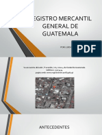 Registro Mercantil General de Guatemala