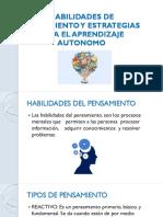 Habilidades de Pensamiento y Estrategias Para El Aprendizaje [Autoguardado]