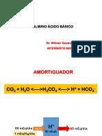 Equilibrio ácido base