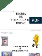 Teoria de Voladura de Rocas 2018 - II