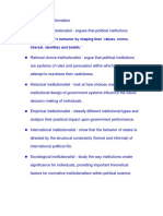 7 strains of Institutionalism.docx