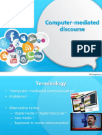 L4 Computer Mediated Discourse
