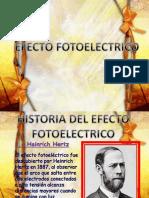 efecto fotoelectrico