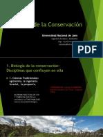 Clase 1 Conservación de La Biodiversidad