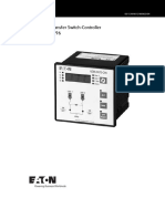 Automatic Transfer Switch Controller NZM XATS C96