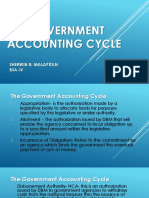 The Government Accounting Cycle