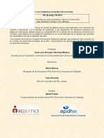 Acto DDHH en Guinea Ecuatorial