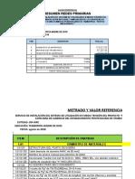 Metrado y Presupuesto - Inpe-puerto Maldonado