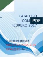 Catalogo Pc Combos 2017