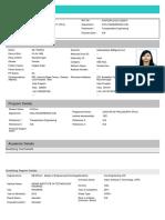 Applicant PDF