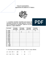 Actividades Numeracion y Resolucion de Problemas 2º