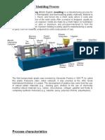 Plastics Injection Moulding Process