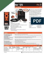 Spec Sheet - Handler 125