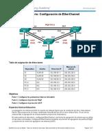 4.2.1.4 Lab - Configuring EtherChannel.pdf