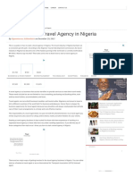 How to Start a Travel Agency in Nigeria[1]