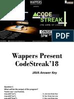 Java AnswerSet