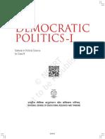 Democartic Politics Cover