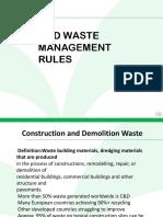 Ppt on solid waste management