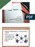 User Stories Cohn NDC2010