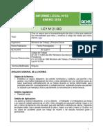 Informe Legal Nº 52