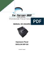 Manual de Usuario SRP-350