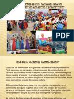 Carnaval Como Producto Turístico
