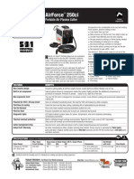 Spec Sheet - AirForce 250ci