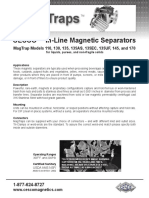 Magnetic Separators for Juices, Soups, Sauces