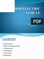 Hybrid Electric Vehcle (Seminar)