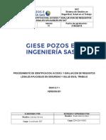 PROCEDIMIENTO DE REQUISITOS LEGALES