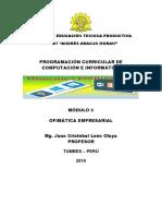 PROGRAMACION MODULO OFIMATICA EMPRESARIAL 2019 con aportes.docx