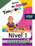 Estimulación Temprana Nivel 1 GDL 3a Generación