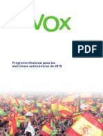 Programa Autonómicas 2019