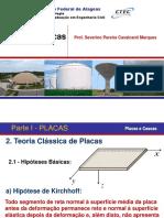 2. Teoria Clássica de Placas