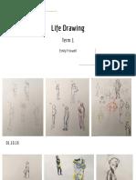 Life Drawing Term 1