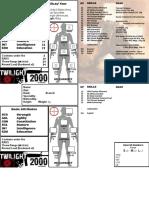 Twilight 2000 1st Edition Custom Character Sheet