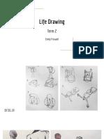 Life Drawing Term 2