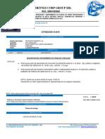 COTIZACION 10-19 - Alquiler de Maquinas