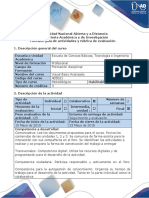 Guía de Actividades y Rubrica de Evaluacion - Paso 5 - Evaluación Final